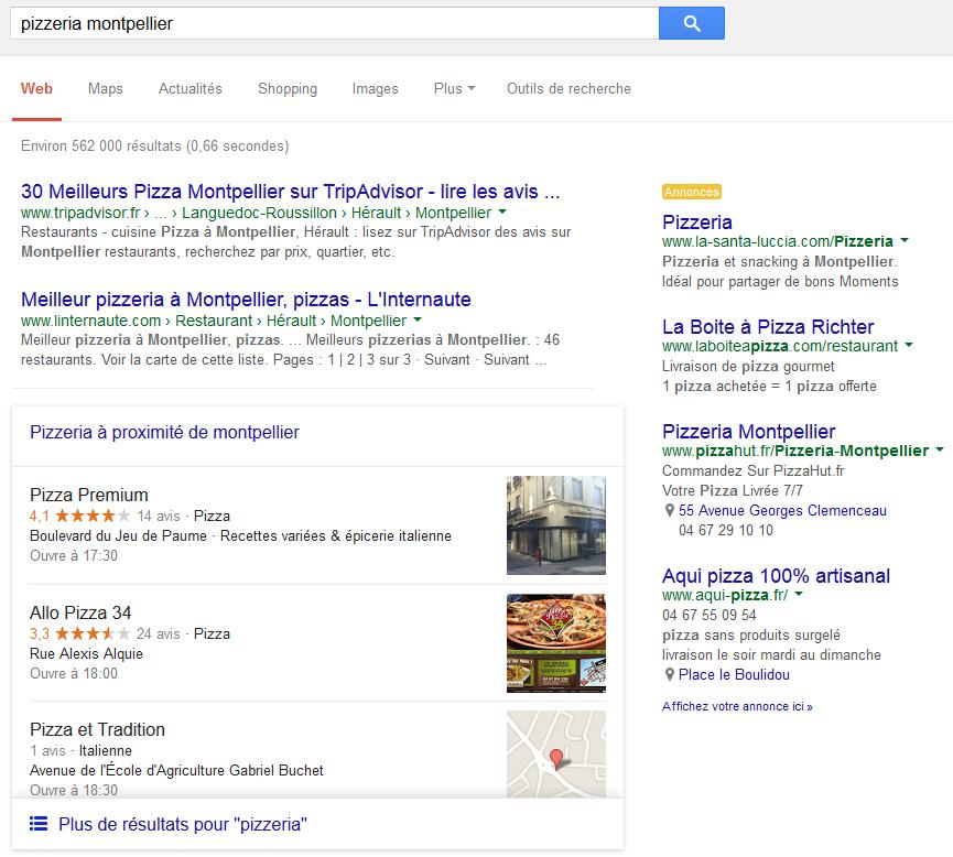 14c7d9e26e80 Les résultats de recherche sur Google   Vu Du Web